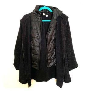 Chico's Zenergy puffer combo jacket